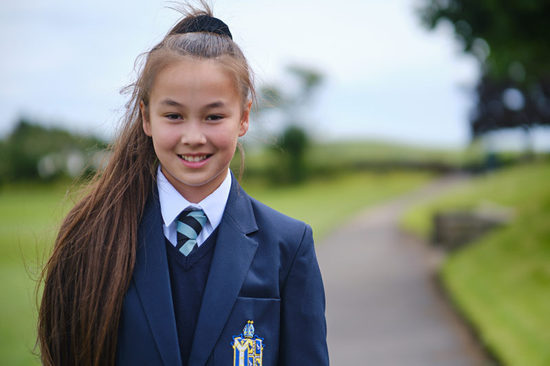 St Bees School student